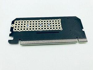Image 5 - وصل حديثًا وحدة تحويل بطاقات توسيع Led من سبائك الألومنيوم واجهة مهايئ الكمبيوتر M.2 NVMe SSD NGFF إلى PCIE 3.0 X16