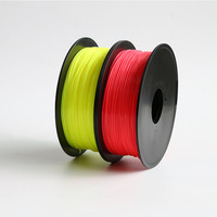 2017 Hot !!! Yellow/Red color option 3d printer filament PLA/ABS 1.75mm 1KG/Roll for 3D printer or 3D pen