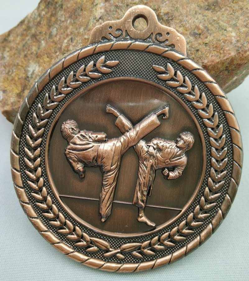 Taekwondo Kindergarten Games Custom Make Zinc Alloy Metal