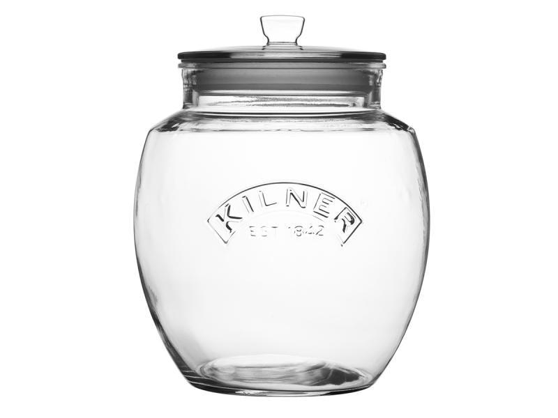 Storage jar KILNER, Push-up Halter Top, 4 L coral halter tie up backless low waist ruffle bikini