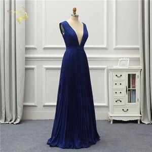 Image 4 - Jeanne Love Vestido De noche Formal sencillo, nuevo, corte bajo, Sexy, sin espalda, elegante, para fiesta, OL5222