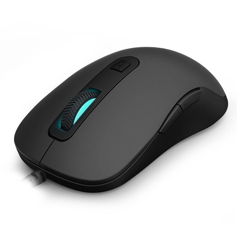 Nouveau Rapoo V22 Programmable Gaming Mouse 3000 dpi 7 Boutons Rétro-Éclairé USB Filaire Optique Souris Gamer pour PC Ordinateur Portable
