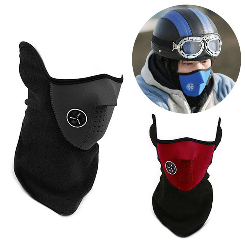 Hot New Face Mask Neck Warmer Windproof Mask Motorcycle Cap Neck Veil Balaclavas Scarf Touca For Men Women jetting 1pcs multi scarf tube mask cap neck face mask motorcycle bandana stretchable tubular headband for men and women