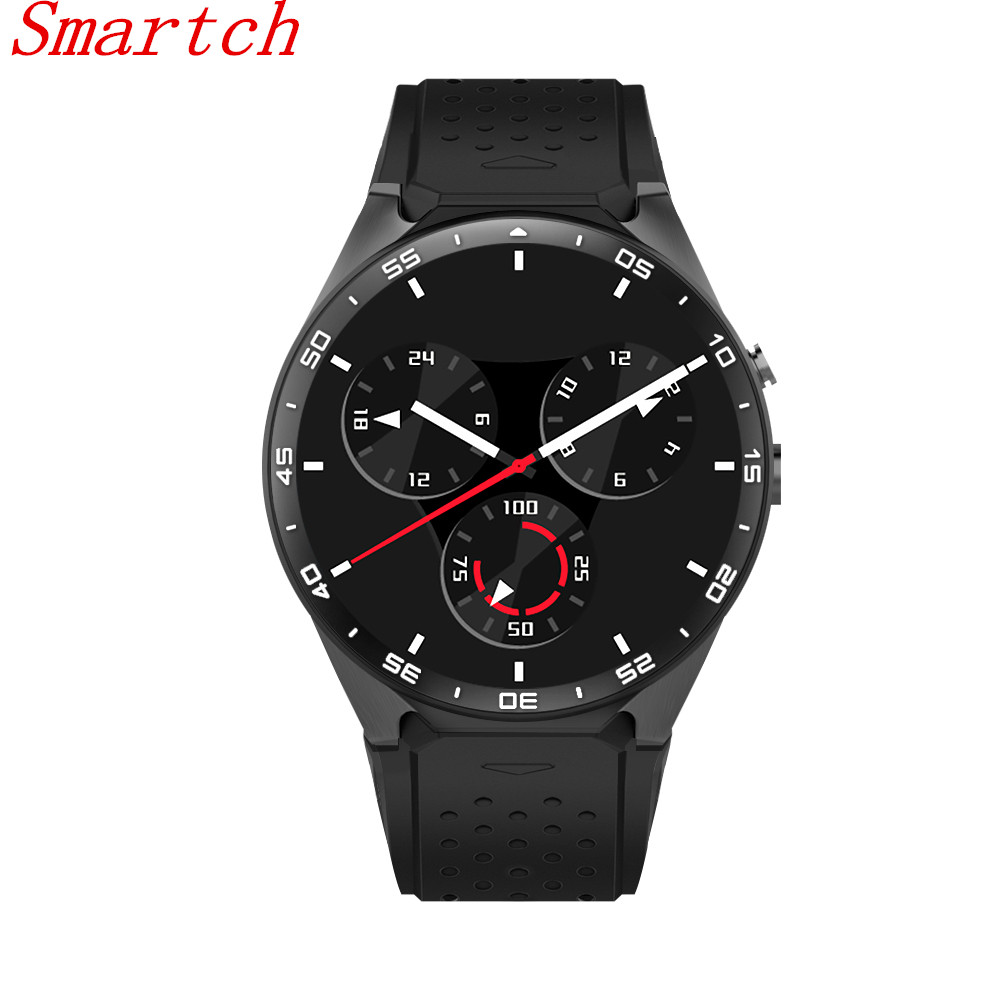 Smartch Hot KW88 Android 5.1 Smart Watch 1.39 inch 400*400 SmartWatch Phone Support 3G WIFI Nano SIM Heart Rate PK X200 kw88 smart watch android 5 1 os quad core 400 400 smartwatch mtk6580 support 3g wifi nano sim card gps heart rate wristwatch