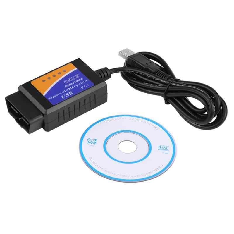 ELM322 V1 5 Bluetooth Interface OBDII OBD2 USB Diagnostic Auto Car Scanner  Scan