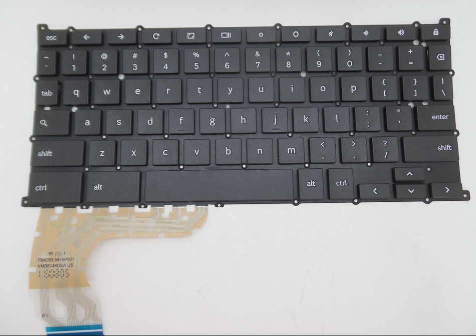US Laptop Keyboard For Samsung XE510 Series Chrome English US BA59-04124A US Layout