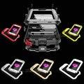 IPX3 Сотовый Телефон Случае Роскошные Противоударный Водонепроницаемый Мощный Алюминиевый Gorilla Glass металлической Крышкой Для iPhone 7 5 5s SE 6 6 s Plus