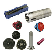13:1 Super High Speed Gear Set/Piston/Piston Head/Cylinder/Cylinder Head/Spring Guide /Nozzle For M4/AK/G36/MP5 Airsoft AEG