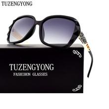 TUZENGYONG Brand Design Gradient Polarized Sunglasses Women Luxury Elegant Sun Glasses Female Prismatic Eyewear Accessories