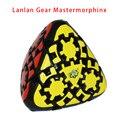 LanLan Gear Mastermorphix Pirámide Rompecabezas Velocidad Cubo Cubo Mágico Puzzle Juguetes Educativos de Aprendizaje