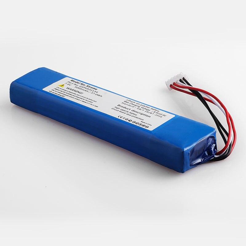 5000 mah bateria para JBL XTREME Xtreme GSP0931134 baterias