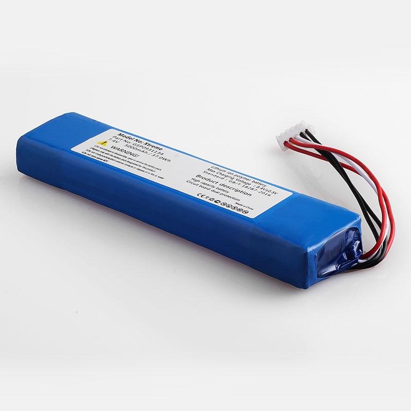 5000mah bateria para jbl xtreme xtreme gsp0931134 baterias
