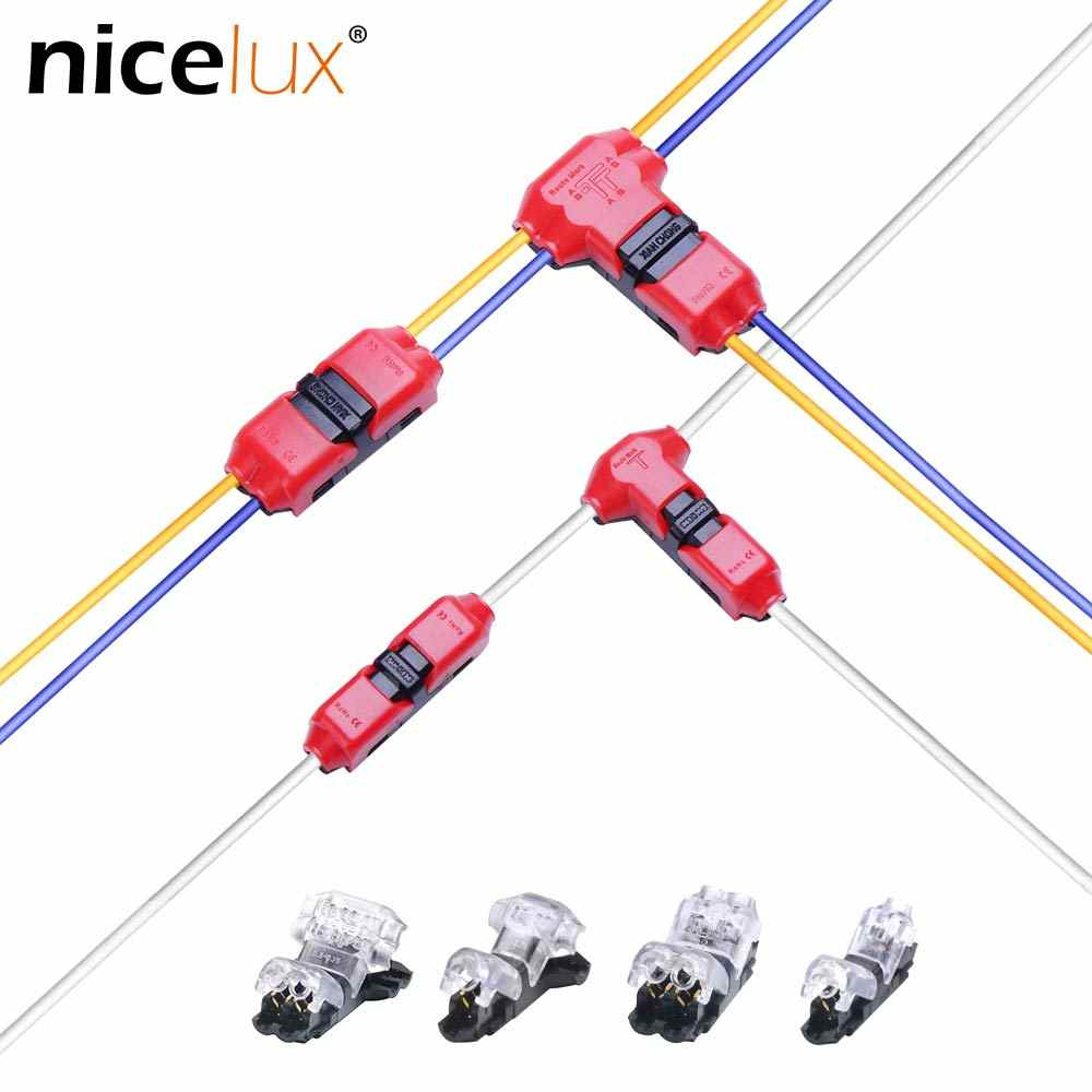 hight resolution of detail feedback questions about 5pcs quick splice scotch lock wire wiring connector for 1 pin 2 pin 22 18awg led strip wire car audio cable terminals crimp
