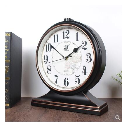 New Chinese clock, living room large silent clock, decorative ornaments, Chinese style creative clock.