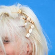 Elegant Full Pearl Hair Clip Barrette Korean Hairpin Headdress Hair Accessory Girls Hair Clip for Women Gifts ubuhle fashion women full pearl hair clip girls hair barrette hairpin hair elegant design sweet hair jewelry accessories 2019