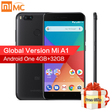 Global Version Xiaomi Mi A1 4GB 32GB Mi Smartphone 12.0MP Dual Camera Snapdragon 625 Octa Core 5.5″ FHD Display Android 7.1.2 CE