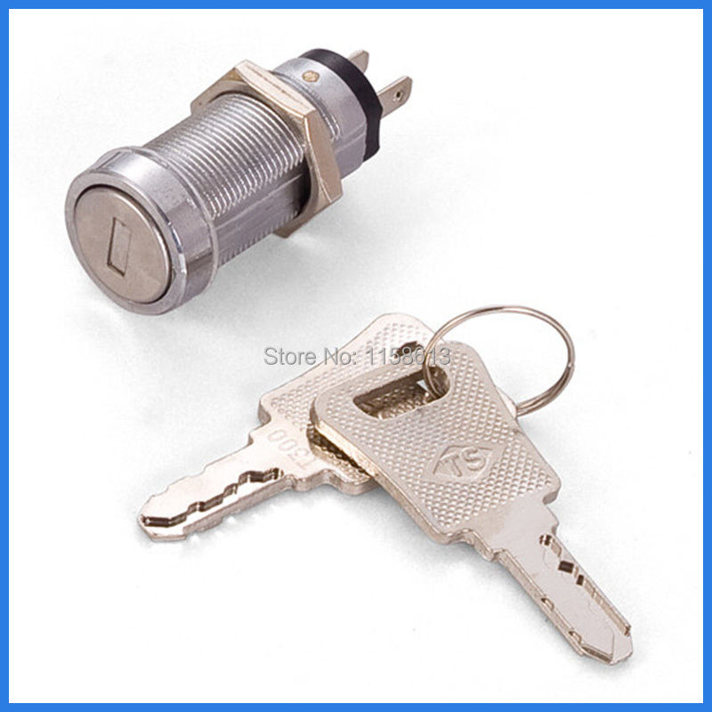 10 pieces 32mm waterproof dustproof keyed alike cylinder switch lock electronic door lock