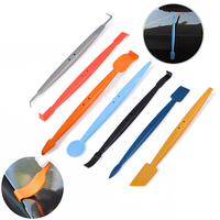 EHDIS 7pcs Magnetic Squeegee Kit Glue Remover Scraper Vinyl Film Car Wrap Magnet Tool Car Sticker Wrapping Window Tints Tools