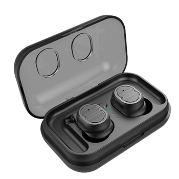 QCR TWS-8 Wireless Bluetooth 5.0 Earphone Headset Touch Control True Earbuds Bass Stereo 6D Headset With Charging Box rockspace eb30