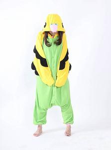 Image 2 - Erwachsene Unisex Fleece Tier Papagei Onesies Neuheit Pyjamas Pyjamas Nachtwäsche Overall Karneval Kostüme Kigurumi
