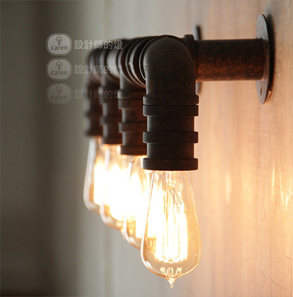 American industry style vintage wall lamp Edison wall light wall sconces lighting contains bulbs free shipping free shipping 5026l replica designer edison industrial vintage wall lamp
