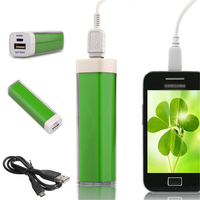 Power Bank 4000mah Lipstick Shape Universal Portable Extra