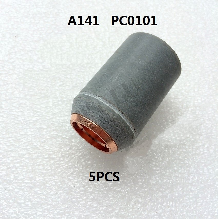 A141 PC0101 Outside Nozzle 5PCS Non-original Trafimet Air Plasma Cutting Torch Consumables trafimet s45 30a consumables kit 27pk with spacer retaining cap nozzle electrode swirl ring pr0110 pd0116 08 pe0106 pc0116