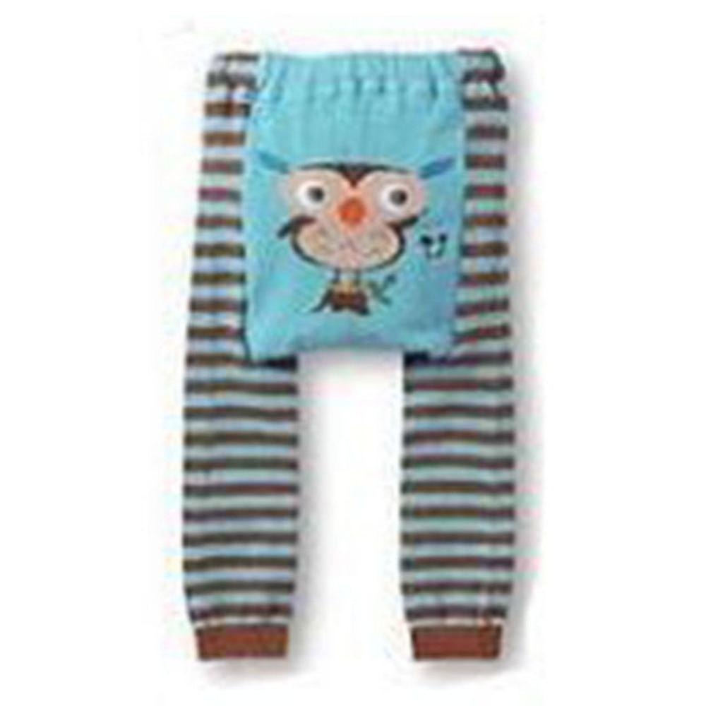 Newborn-Baby-Kid-Infant-Toddler-Cartoon-Striped-Leggings-Long-Pants-6-Colors-5
