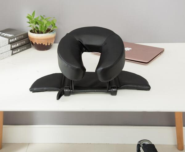 Home Massage Kit - Deluxe Adjustable Headrest & Face Pillow / Home & Family Massage Beauty Cradle Rest Pad For Desk & Tabletop