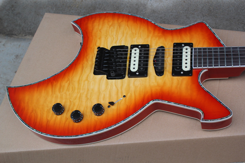 chinese factory custom anarchy floyd rose cs electric guitar with reasonble price and many color. Black Bedroom Furniture Sets. Home Design Ideas