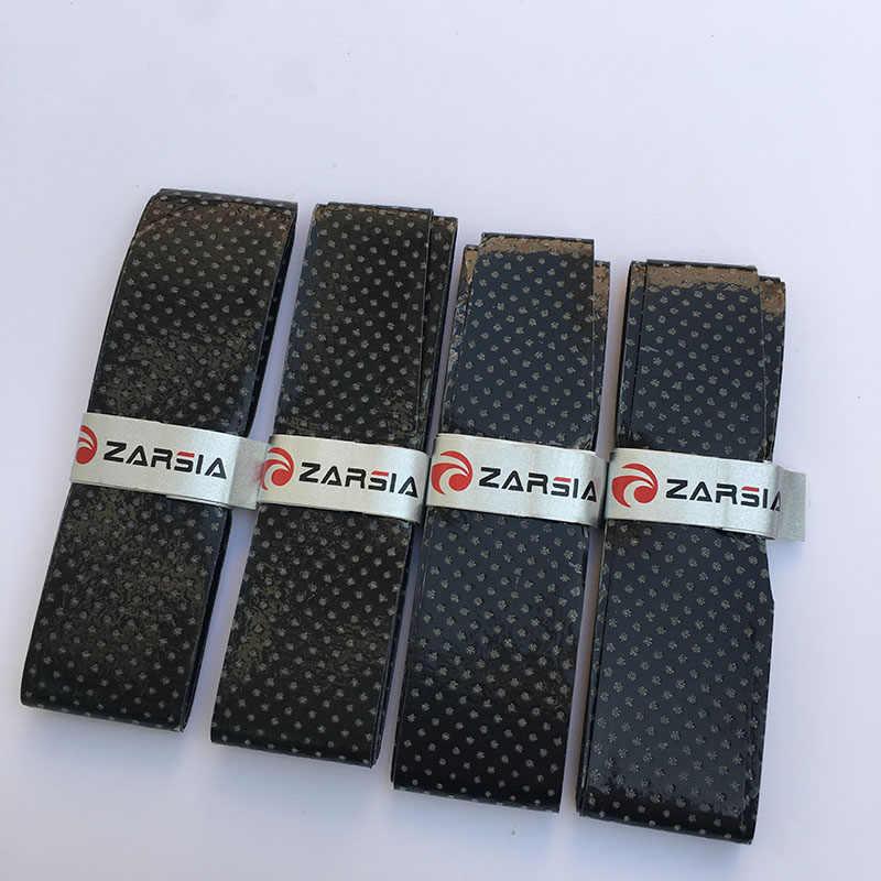 2016 NEW Quality ZARSIA black perforated Thin sticky badminton grip, Tennis overgrip,badminton over grip,squash racket grip