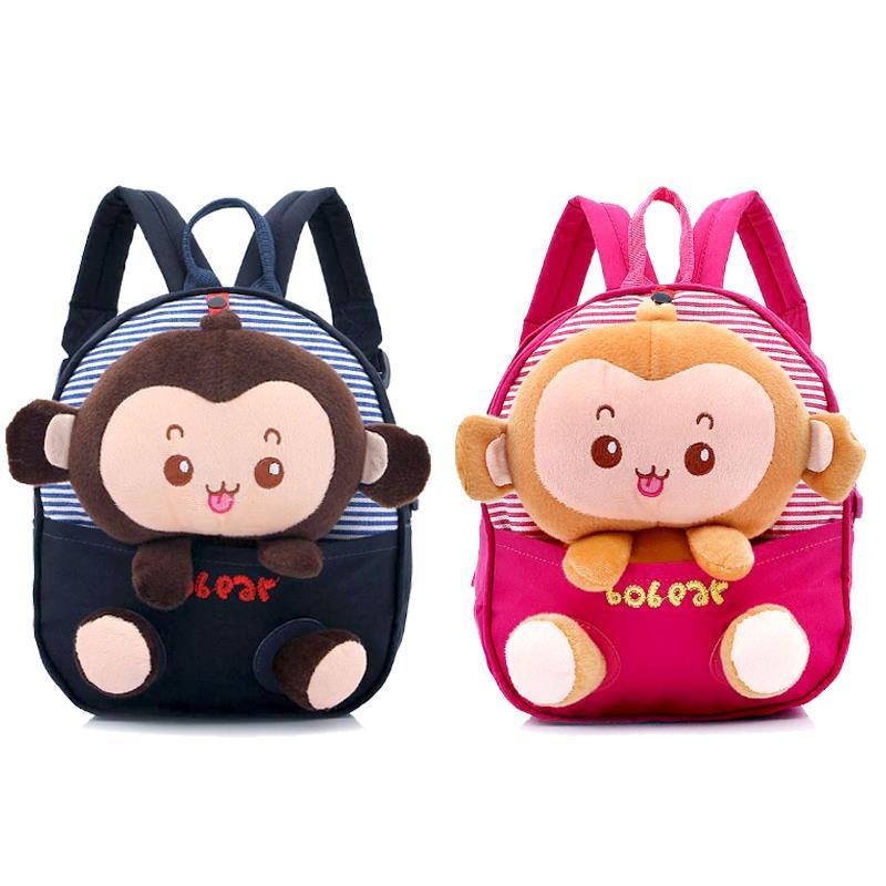 Korean fashion children kindergarten baby bag children travel backpack Catoon money print cute for 1-3 years old baby