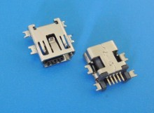 10PCS Mini USB Type B Female 5 Pin SMT SMD Shen board PCB Socket Connector