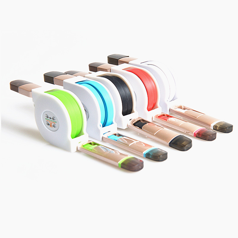 2016 NEW Retractable USB data cable For iPhone 5 5s 6 6s 2 in 1 charging