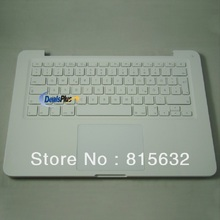 3pcs/lot 95% NEW FOR MACBOOK unibody A1342 German Top case & keyboard & trackpad case