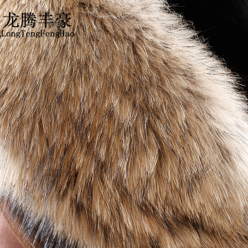 Real Fox Fur Hat Female Pompom Beanie Hat Natural Fur Knitted Cap Rex rabbit fur top Beanies for Women Cap 2017 Winter Hats lady in Women 39 s Skullies amp Beanies from Apparel Accessories