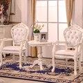 Европейский стиль твердого дерева, обеденный стул кожаное кресло исследование компьютерные стулья переговоры прием стулья отель клуб стулья