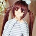 НОВЫЙ!! 1/3 BJD парик длинные прямые волосы куклы DIY Высокотемпературный Провод для 1/3 1/4 1/6 ДД BJD SD dollfie