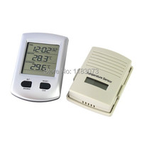 Brand New 433MHz Digital Wireless Indoor Outdoor Thermometer Clock Wireless Weather Station Clock For Home Garden