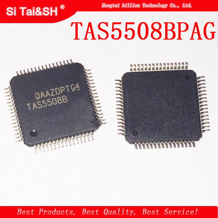 1pcs/lot TAS5508BPAGG4 TAS5508BPAG TAS5508B TAS5508 TQFP64  R Audio PWM Processor