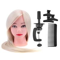 6 PCS/Set Salon Hair Clips Comb Bracket DIY Hair Styling Training Head Mannequin Head Hair Styling Training Tool Set