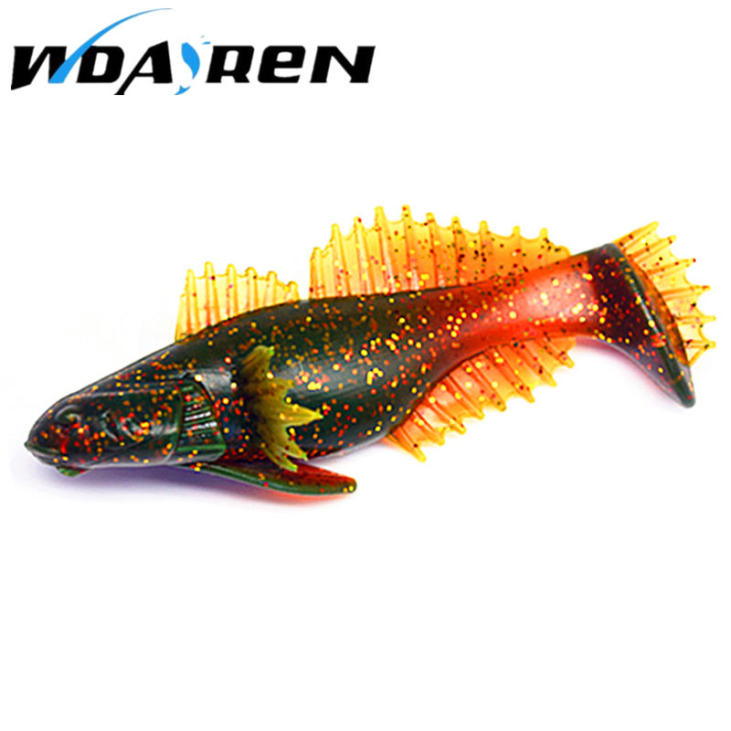 1Pcs 10cm 20g Fishing Swimbaits Jig Head Soft Lure Fly Fishing Bait soft fishing lure 4 colors Soft bait NR-447 5sheets pack 10cm x 5cm holographic adhesive film fly tying laser rainbow materials sticker film flash tape for fly lure fishing
