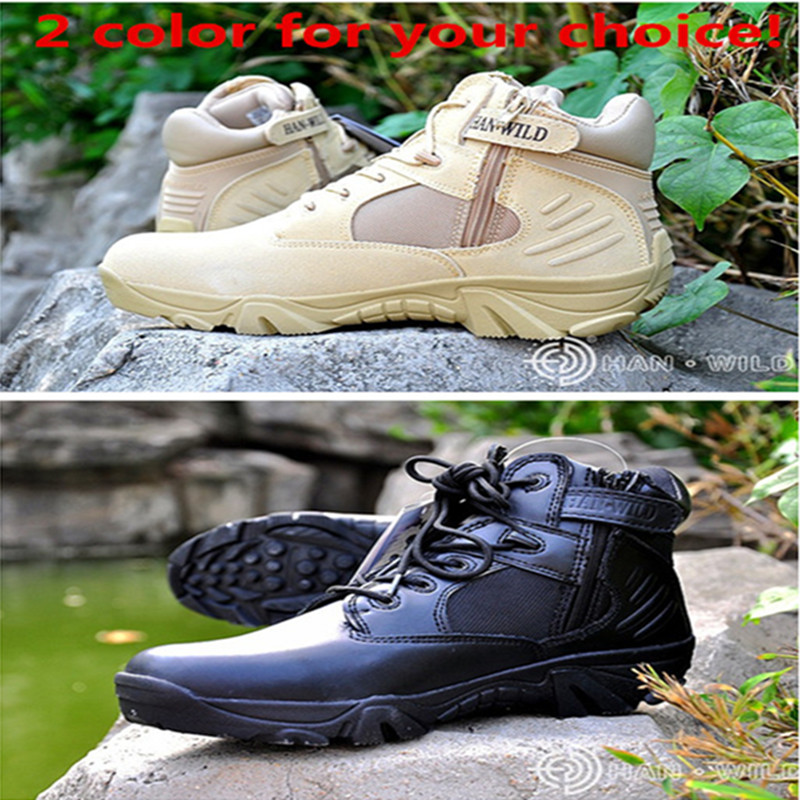 Breathable Wear-resisting Hiking Sneakers Men Camping Shoes Tactical Military Combat Boots Outdoor Waterproof Trekking Shoes military men s outdoor cow suede leather tactical hiking shoes boots men army camping sports shoes
