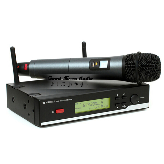 True Diversity Stage Singer XSW35 Professional UHF Wireless Microphone System XSW 35 Vocal Cordless Karaoke Handheld Mic Mike