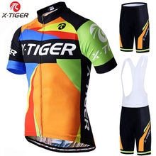 X-Tiger Pro Bersepeda Jersey Set Musim Panas Sepeda Sepeda Gunung PRO Sepeda Bersepeda Jersey Olahraga Suit Maillot Ropa Ciclismo(China)