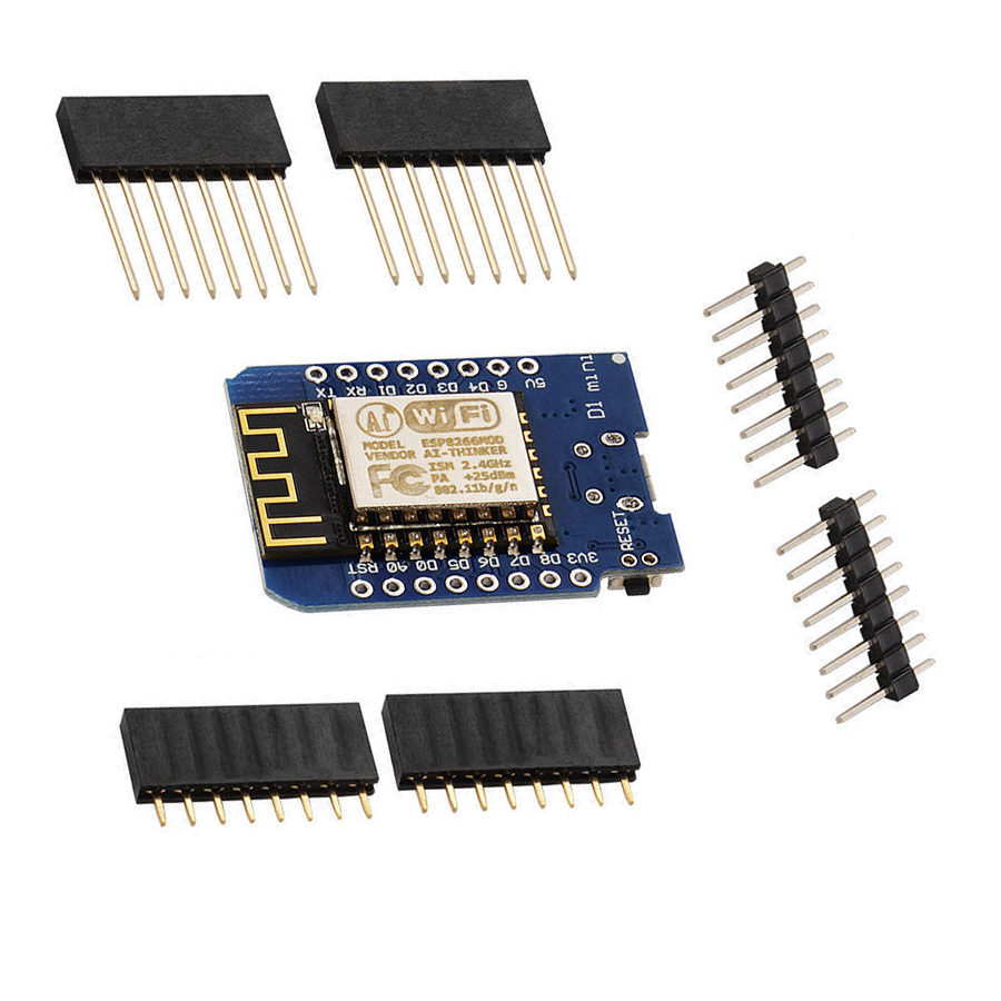 ESP8266 ESP-12 CH340G CH340 V2 V3 USB WeMos D1 Mini WIFI Module Development Board ESP-12F ESP8266 D1 Mini NodeMCU 3.3V With Pins