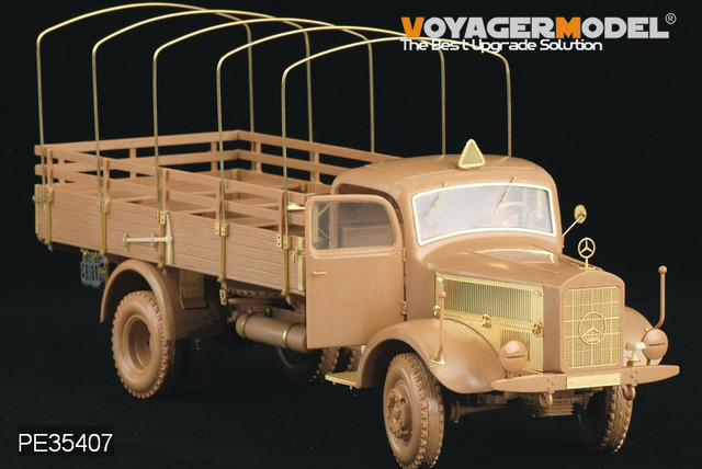 Voyager 1:35 WWII German Benz L4500A Truck (For Zvezda 02312) PE35407