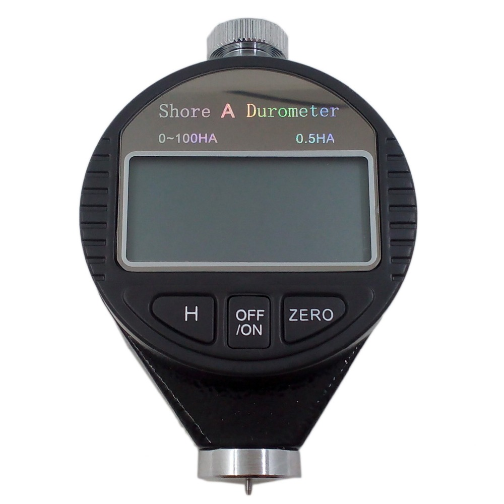 ФОТО Digital Shore hardness Durometer Digital Hardness Tester Hardness Meter Shore A for Plastic, leather, rubber, multi-resin, wax