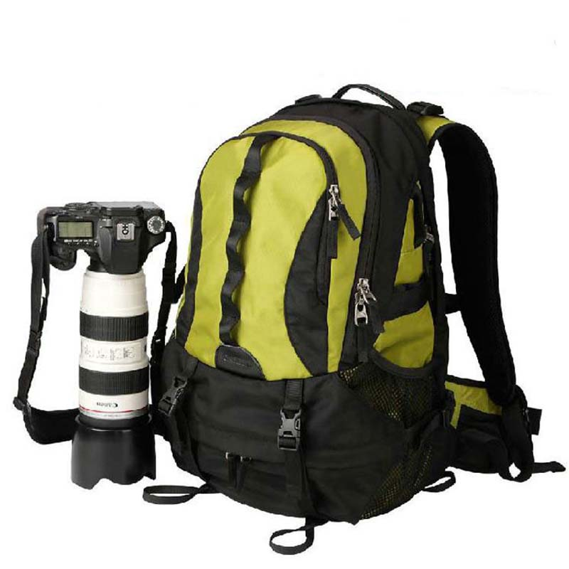 New Pattern Travel Camera Backpack C1325 Digital SLR Bag Large Capacity Photography Camera Video Bag Universal Kamera Bag in Camera Video Bags from Consumer Electronics