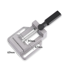 Mini Multi-functional Bench Vise Household Workbench Small Vise Flat 70mm Aluminum Alloy Tools Clamp On Table Bench Vise